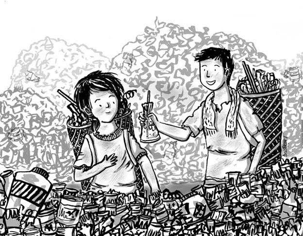 Wow 30 Gambar Kartun Pengemis Jalanan - Miki Kartun