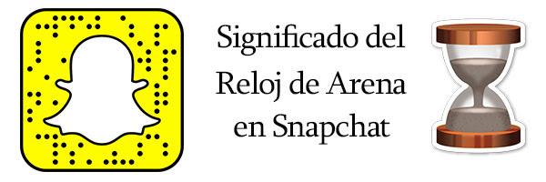Que Significa El Reloj De Arena En Snapchat Información 2018