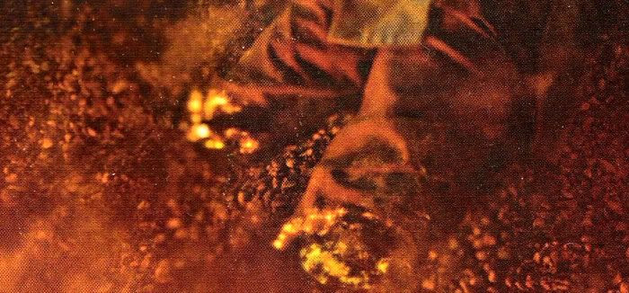 Lava slowly seeps toward what remains of Anakin's legs.