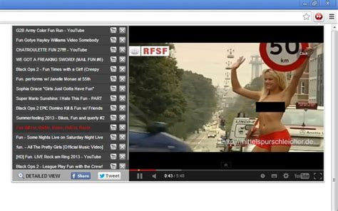 youtube video player youtube chrome