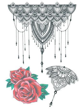 Angel Wings Temporary Tattoo Tattooednow Ltd