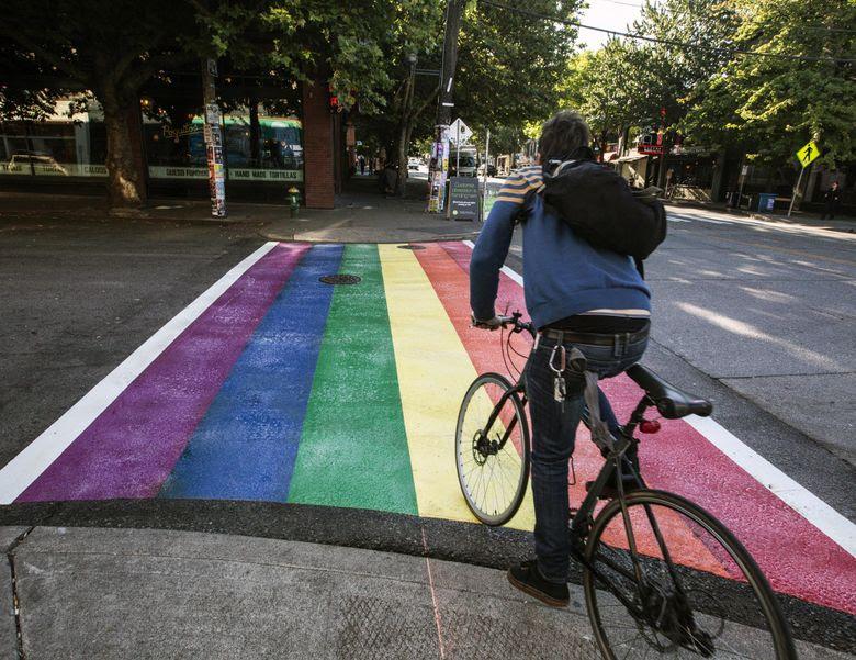 http://www.seattletimes.com/seattle-news/colorful-crosswalks-celebrate-gay-pride-in-seattle/