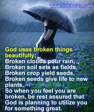 Good Morning God Uses Broken Things Beautifully Daily