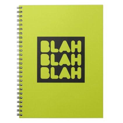 Wit, wisdom and sarcasm spiral notebook