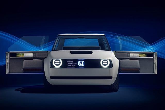 2019 Honda Urban EV concept - 2018-2019 New Hybrid Cars