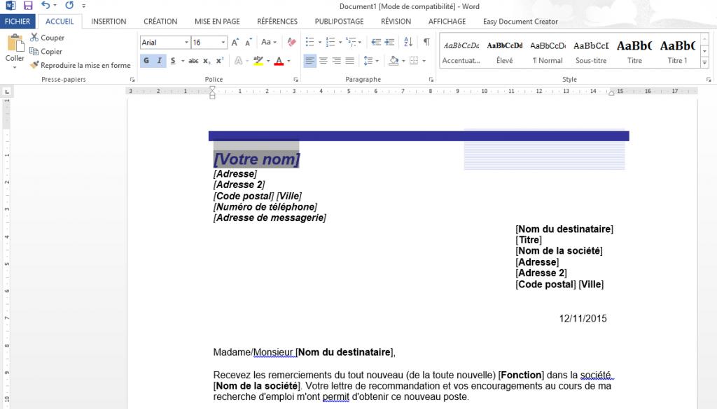 Comment Créer Et Enregistrer Un Document Word Coursinfofr