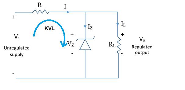 Shunt Voltage Regulator - Working Principle