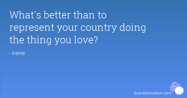 Quotes About Representing Your Country 18 Quotes