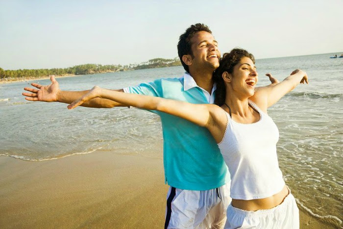 Spend quiet romantic time with your lover at the beaches of Goa