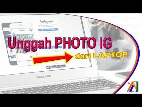 Posting instagram dari laptop menggunakan Google Chrome