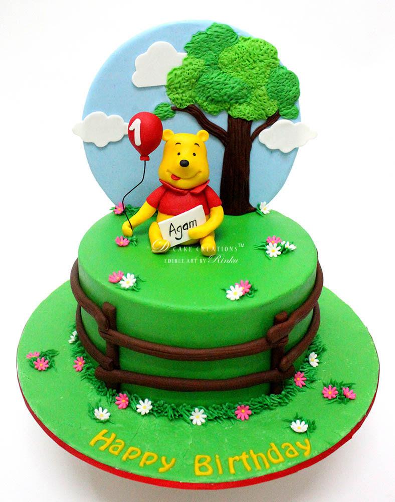 Winnie The Pooh Cake D Cake Creations