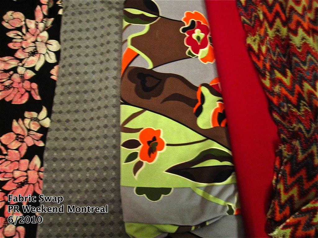 Fabric Swap, PR Weekend Montreal