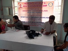 Medical Camp at Laju