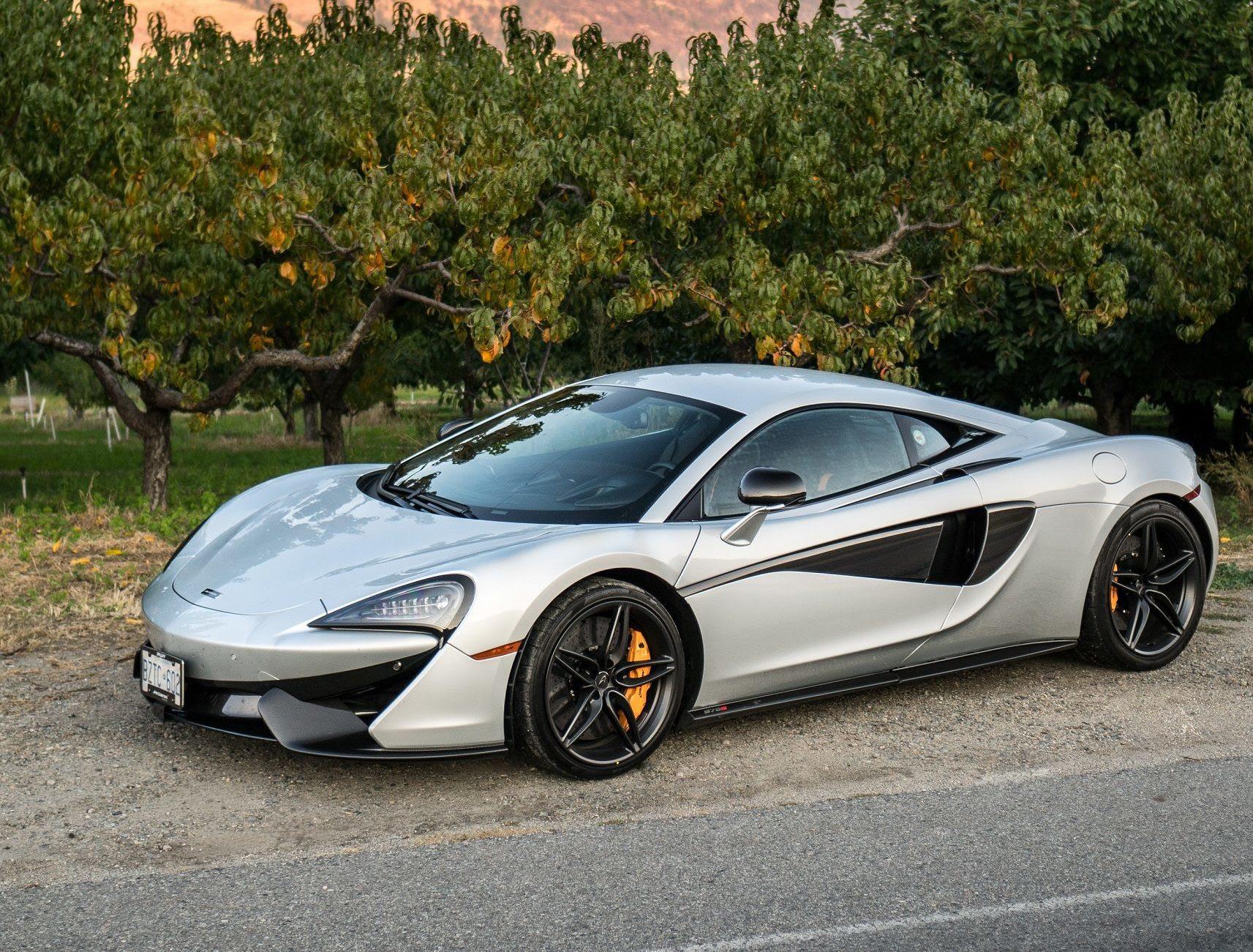 The McLaren 570S  NUVO