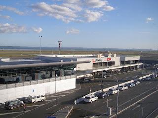 Qantas / Pacific Blue terminal