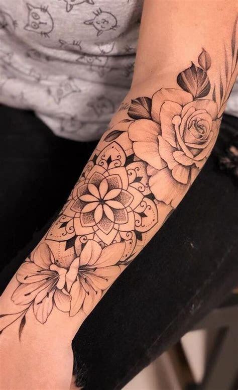female forearm tattoos ideas roses armfemale