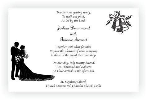 Christian Wedding Invitation Wordings ? CHOCOCRAFT