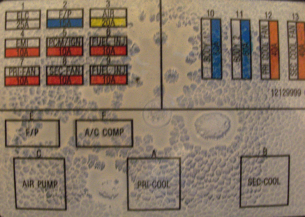 1995 Caprice Fuse Box Diagram Impala Forums