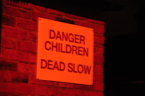 Dangerous children? Slow children? Zombie children?