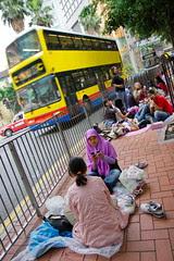 Indonesian maids in Hong Kong by digbyross