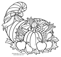 Intrepid image in cornucopia coloring pages printable