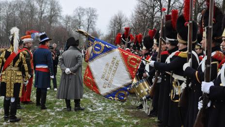 Napoleonic reenactment