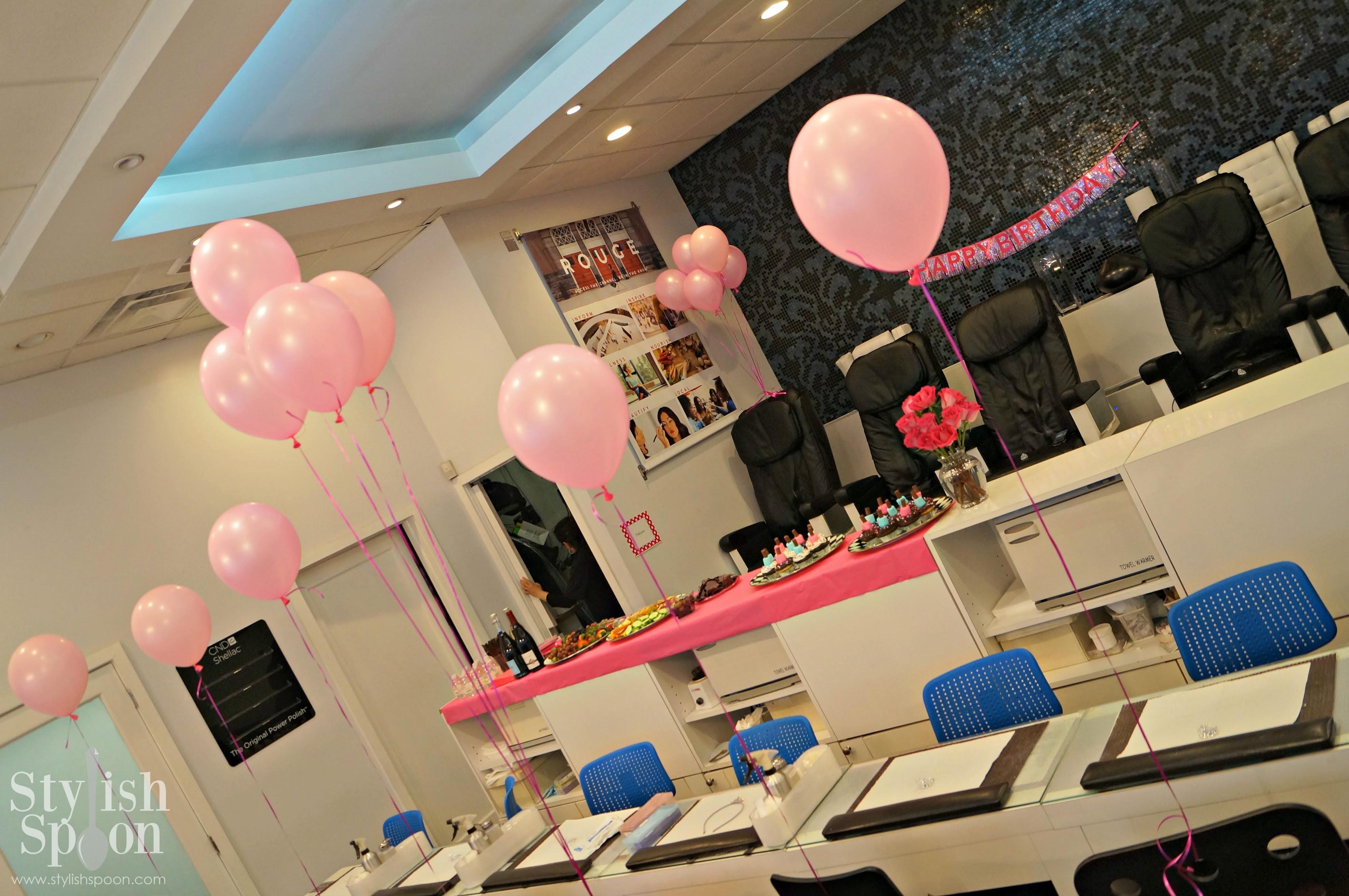 Salon Anniversary Decoration Ideas - NaturalSalons