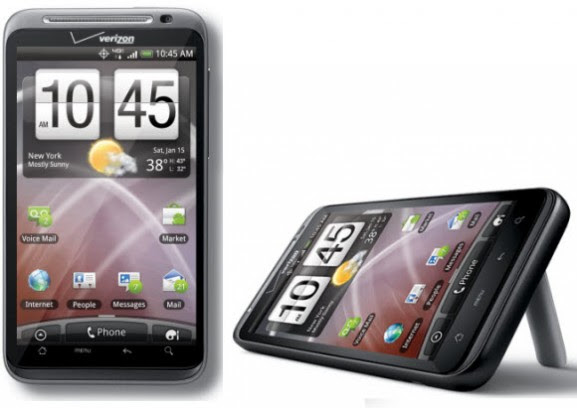 htc thunderbolt 10 Best Android Cell Phones in 2011
