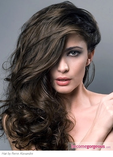 Pictures : Brown Hair Color Shades  Medium Ash Brown Hair Color