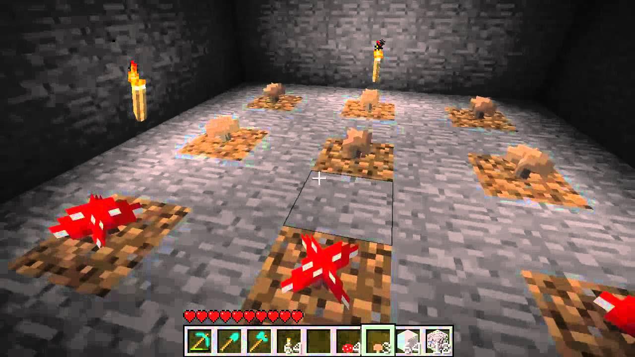 Basic Mushroom Farm (Tutorial) :: Minecraft - YouTube
