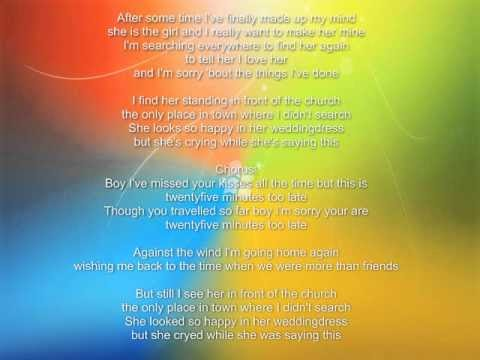 25 Minutes Lyrics By Michael Learns To Rock