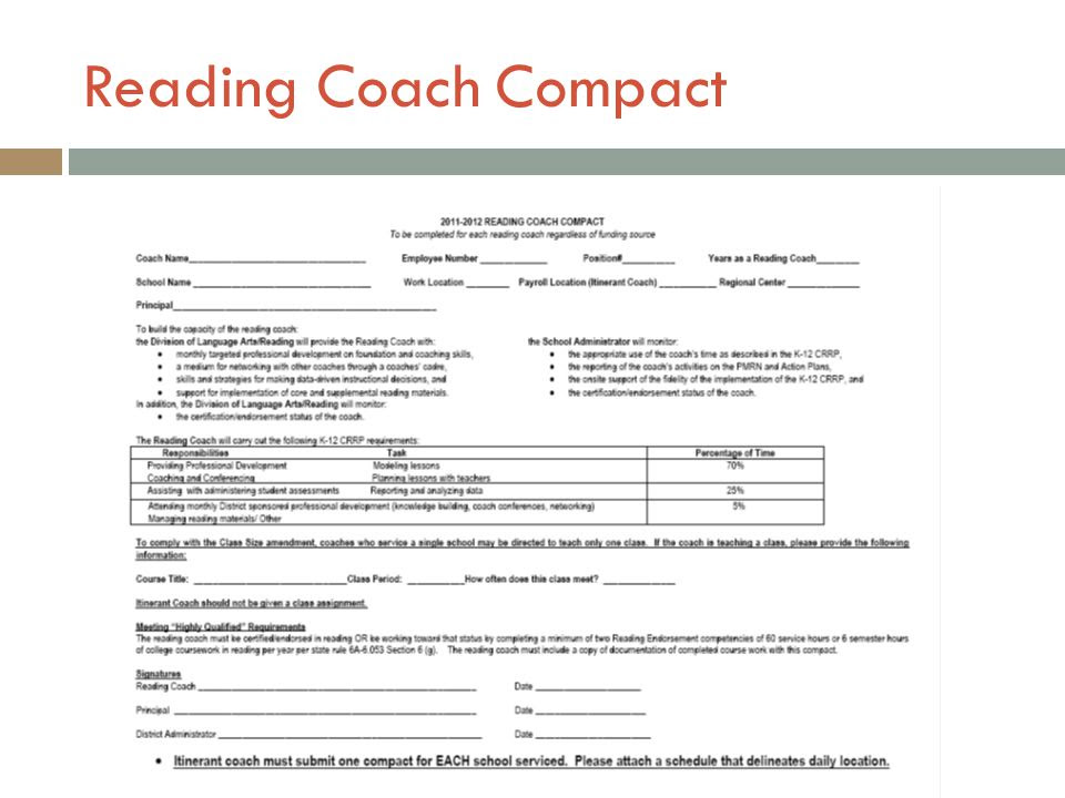 Literacy Coach Daily Schedule | Daily Planner