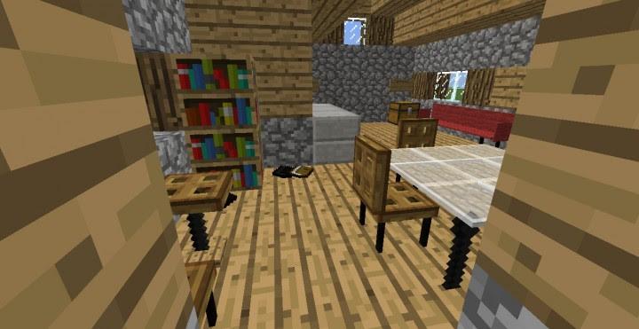 Minecraft Command Block Furniture Mod - Muat Turun d