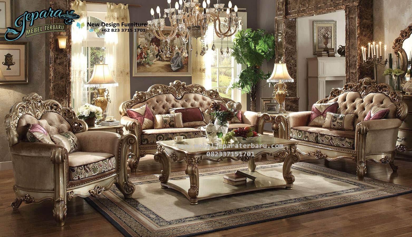 Sofa Ruang Keluarga Minimalis Mewah Vendome SST 073 Sofa Ruang Tamu