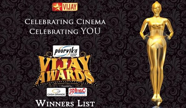 Vijay Awards 2015 Winners List