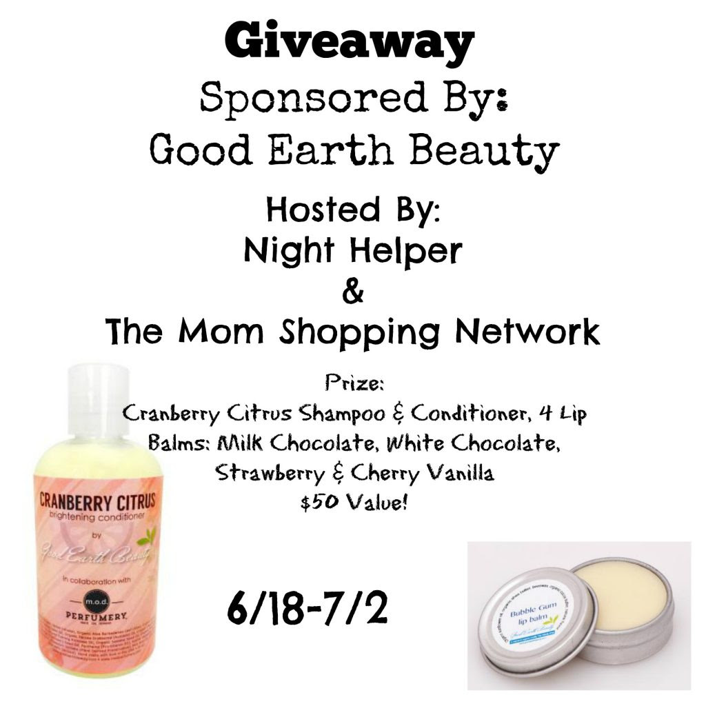 Good Earth Beauty Giveaway
