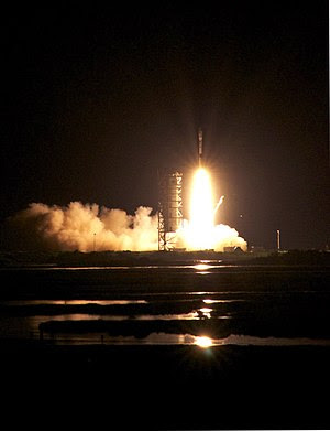 Minotaur I Rocket Launch at NASA Wallops, June...