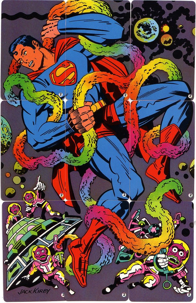 Jack Kirby - Superman Puzzle 1, 1971