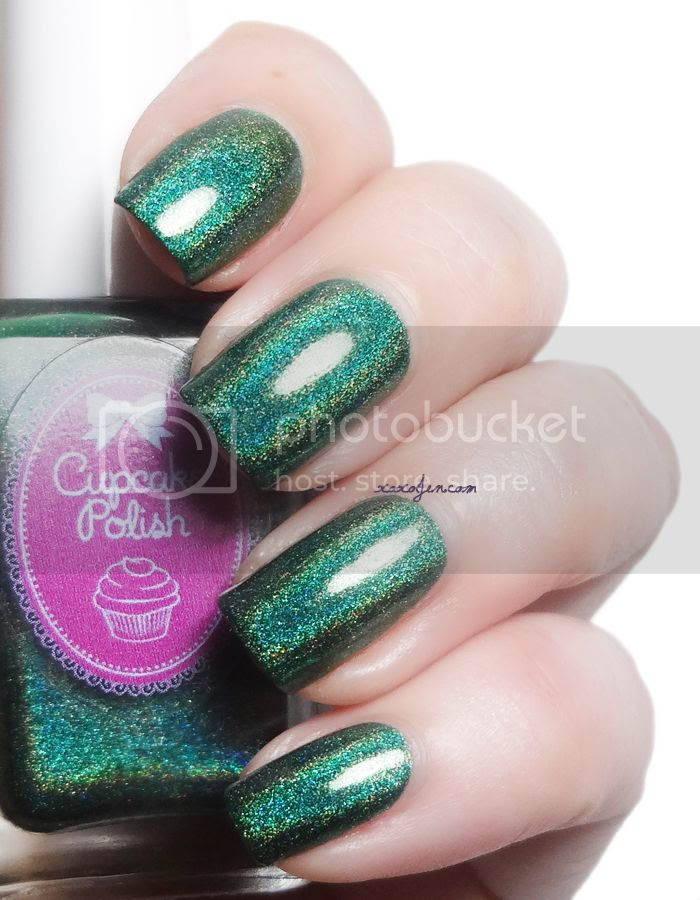 xoxoJen's swatch of Cupcake Polish Emerald Aisle