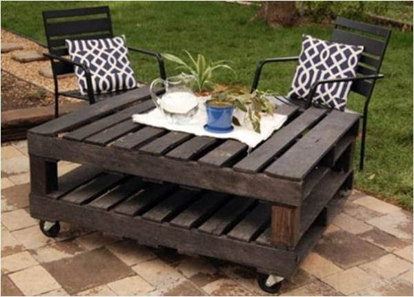 Recycled Wood Pallet: Decoration and Functionality | Home Design ...