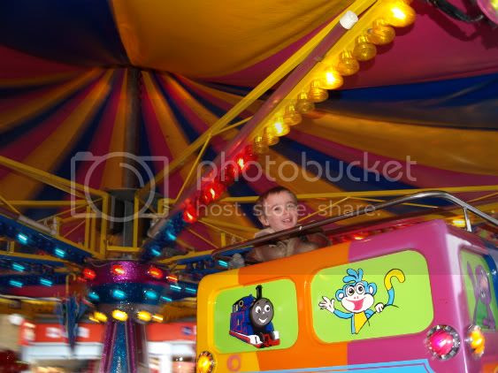 Connor on ride