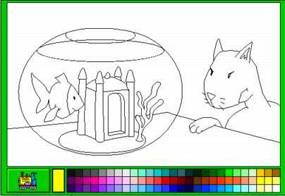 Colorier Sur Lordinateur - Dessin et Coloriage