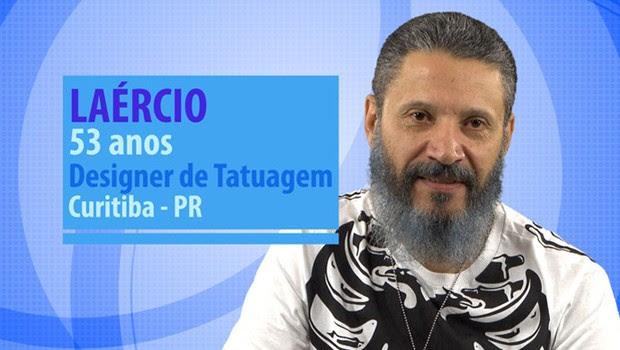 Laércio é participante do BBB 16 (Foto: Globo/Divulgação)