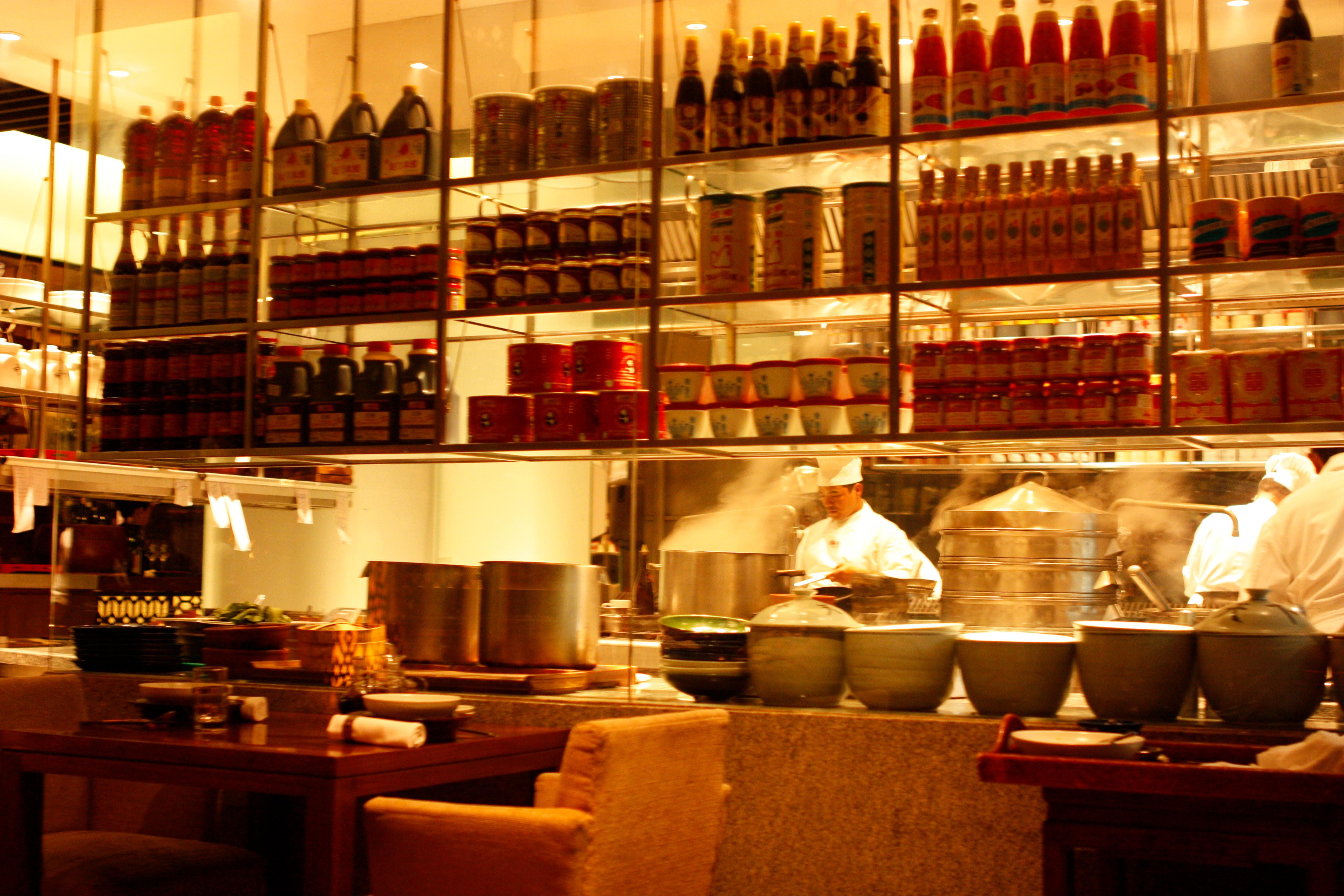 Open Restaurant Kitchen Designs photo of open kitchen falls church va united states the kitchen