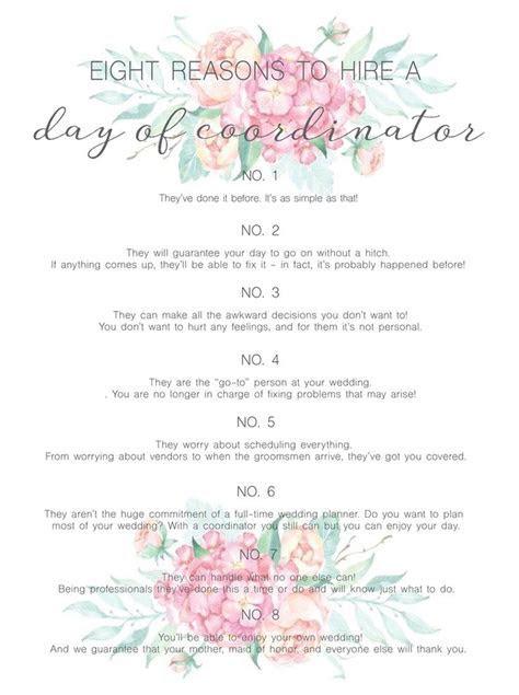 Best 25  Wedding coordinator ideas on Pinterest   Wedding