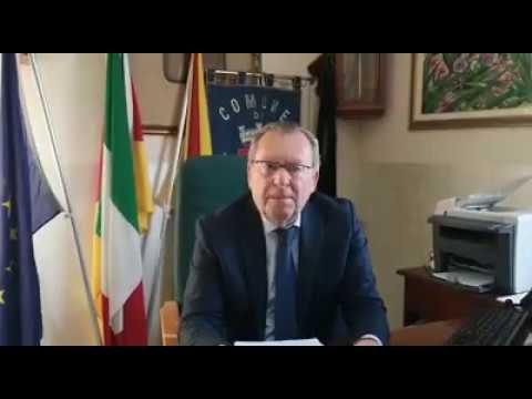 VIDEO -  Il Sindaco Lauricella in merito la riapertura del centro migranti di Villa Sikania