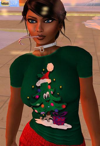 69L Wednesday Dreams Christmas Tree t-shirt