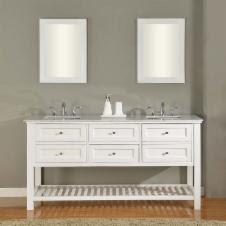 Double Sink Bathroom Vanities : Traditional   Hayneedle.