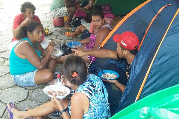Ocupação faz parte da agenda do MST na Jornada Nacional de Lutas das Mulheres Camponesas