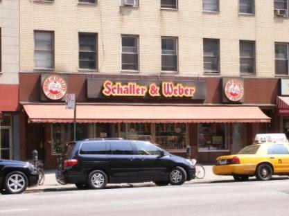 Schaller & Weber German Grocer in NYC